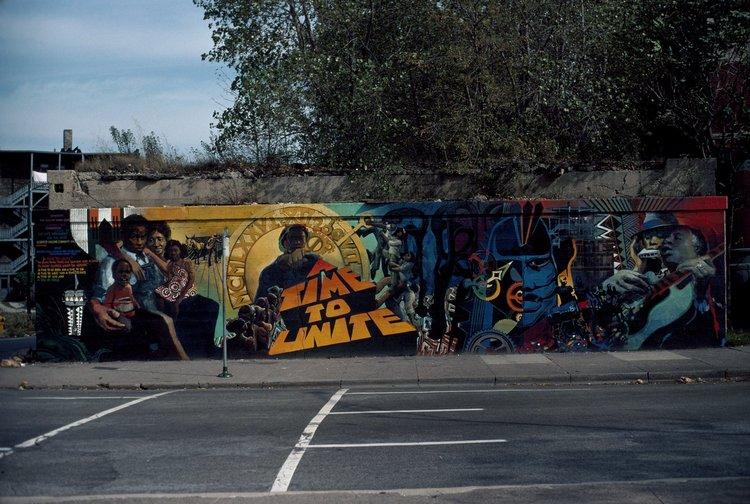 Unite mural