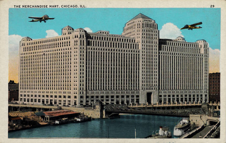 The merchandise mart chicago illinois