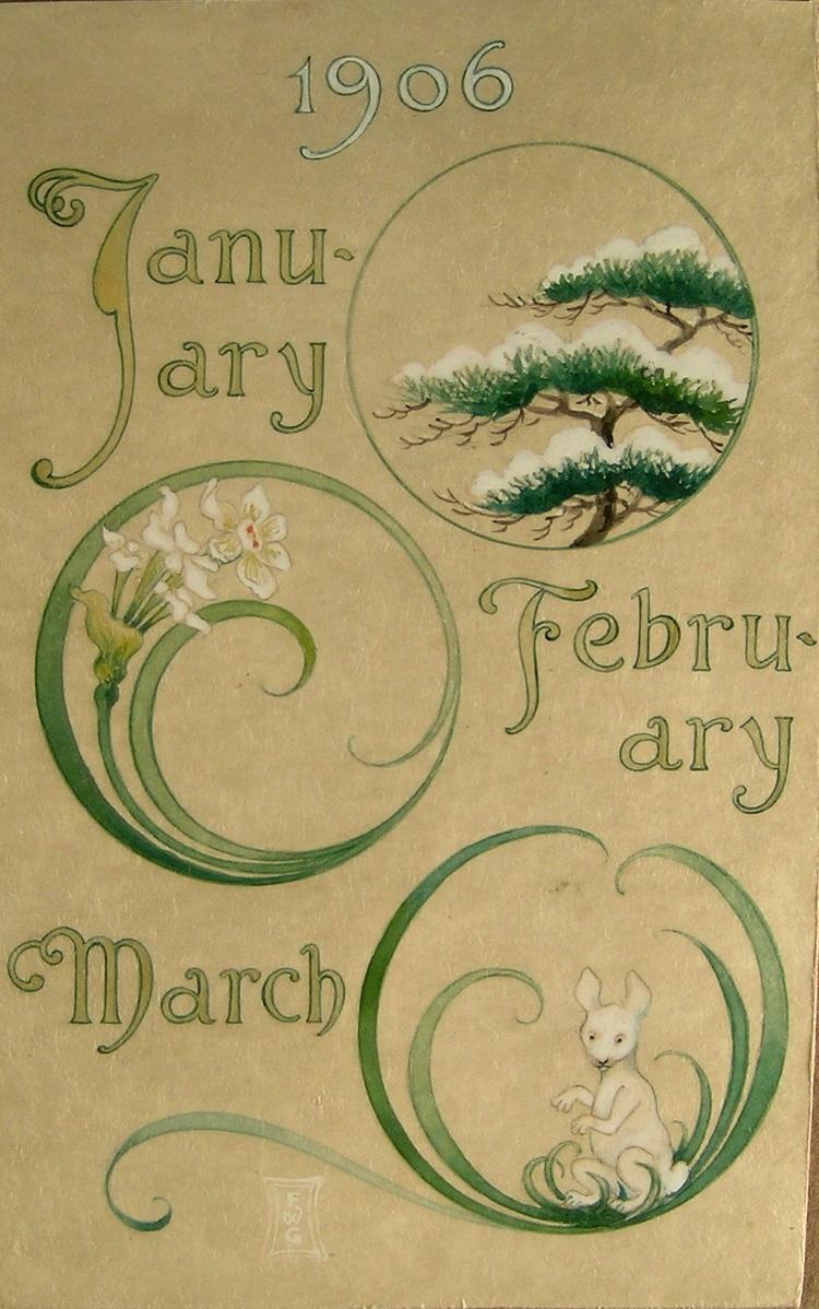 Frederick gookin calendar